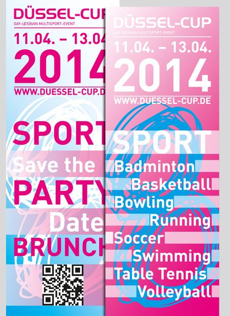 DÜSSEL-CUP | Eventflyer