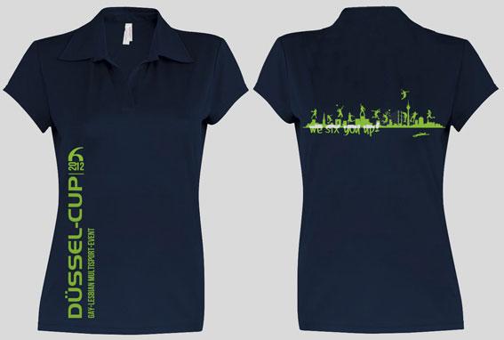 DÜSSEL-CUP Teilnehmer Polo-Shirts