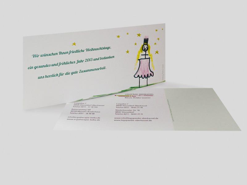 ERGOTHERAPIE + LOGOPÄDIE | Weihnachtskarte