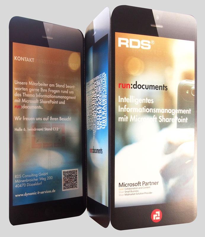 RDS CONSULTING | Flyer im Handyformat