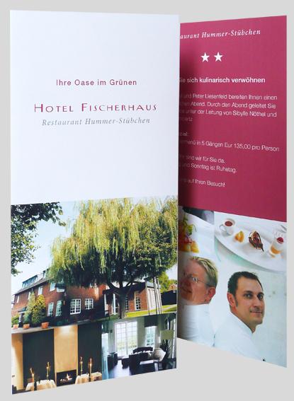 Imageflyer für das Hotel Fischerhaus