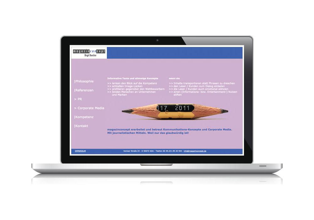 MAGAZINCONZEPT | Homepage