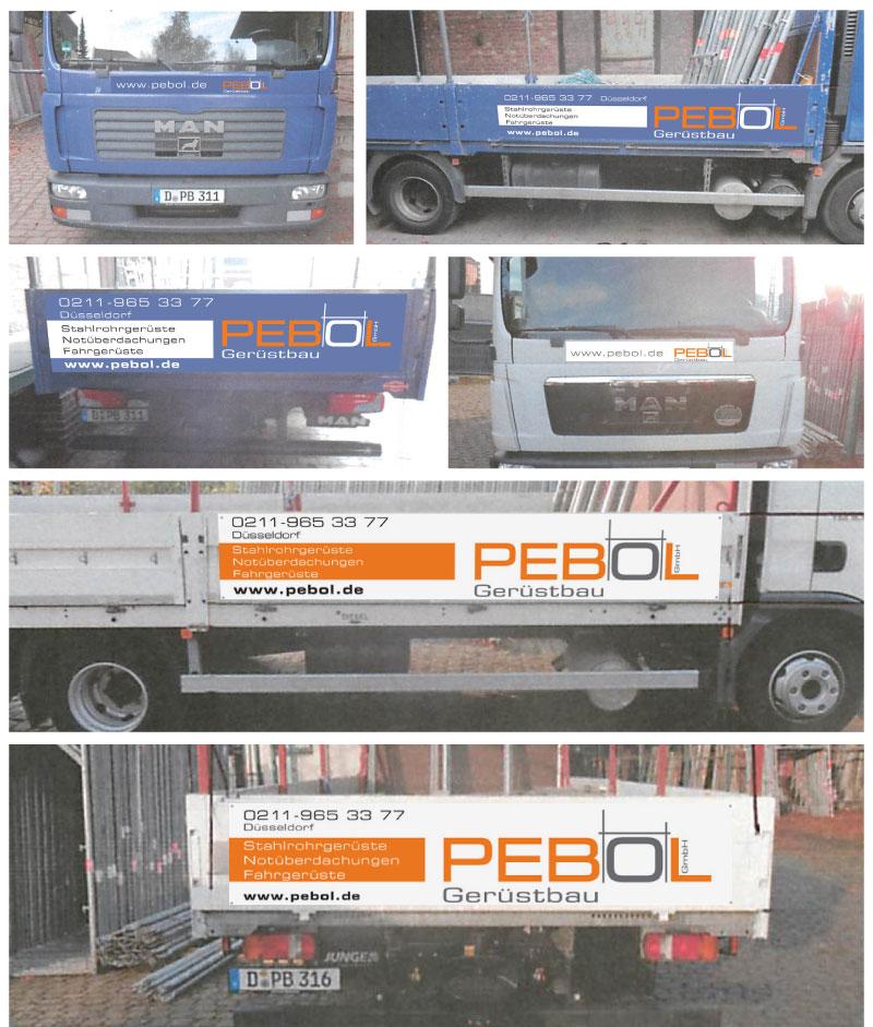PEBOL | LKW-Beschriftung