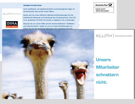 CALLCENTER | Mailing Postkarte