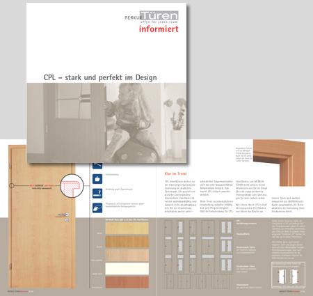 MERKUR TÜREN | Produkt-Flyer