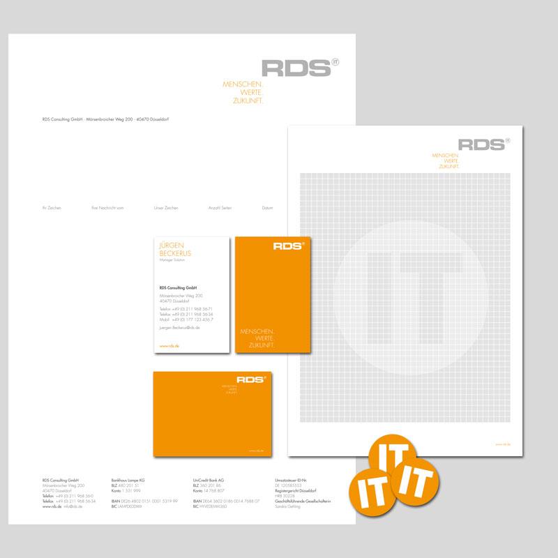 RDS CONSULTING | Geschäftsausstattung