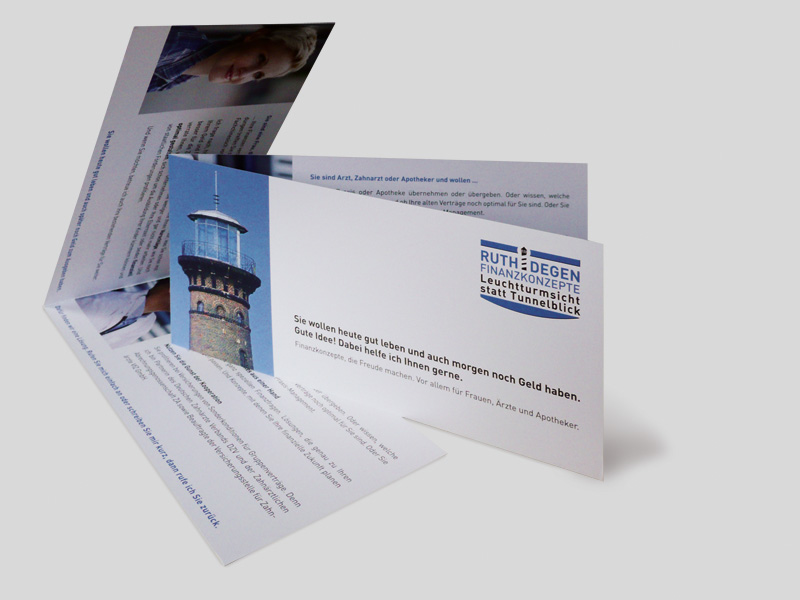 Ruth Degen Finanzkonzept | Info-Flyer