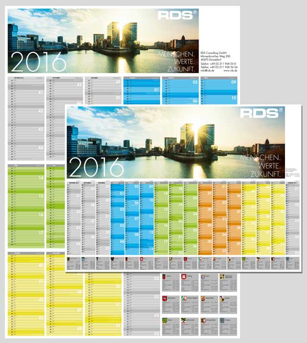 RDS CONSULTING | Wandkalender
