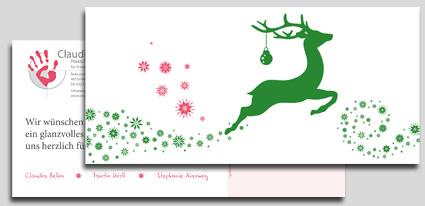 ERGOTHERAPIE CLAUDIA BELKA | Weihnachtskarte