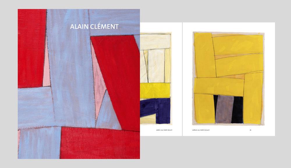 Kunstkatalog-Alain-Clément