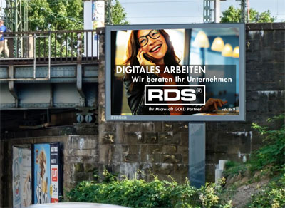 Roadside Screen für RDS CONSULTING