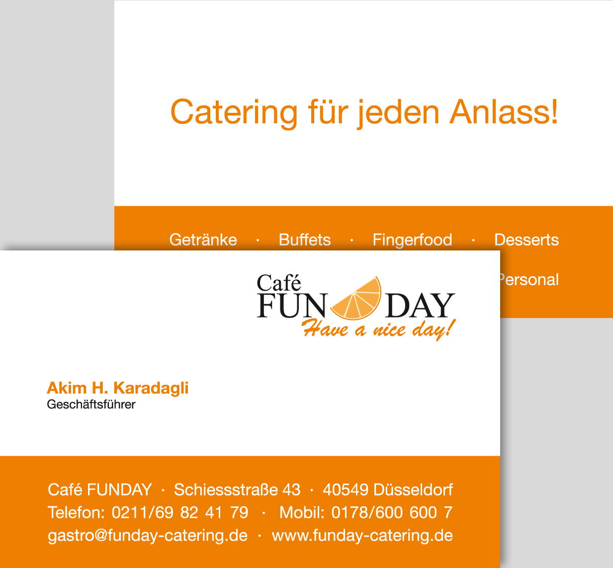 CAFE FUNDAY | Visitenkarte