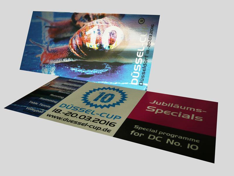 DÜSSEL-CUP | Postkarte
