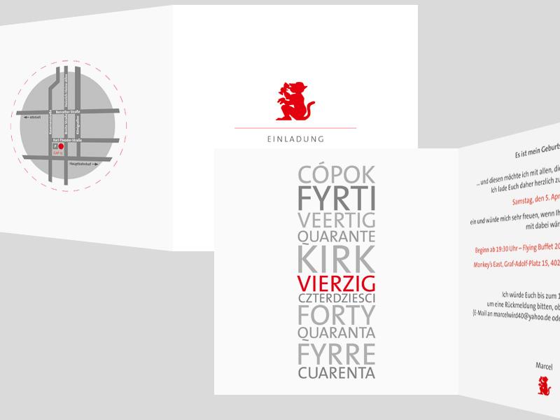 PRIVATPERSON | Einladungskarte
