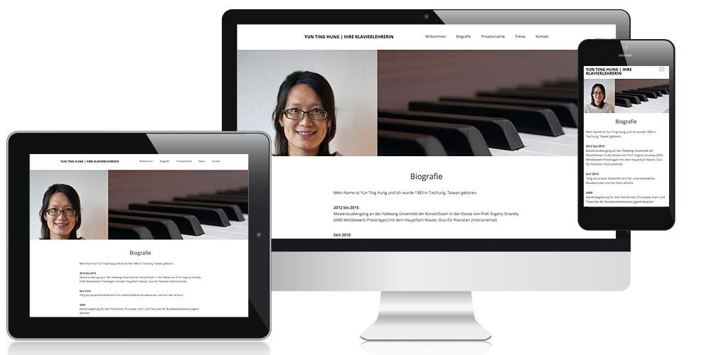 KLAVIERLEHRERIN YUNTING HUNG | Homepage