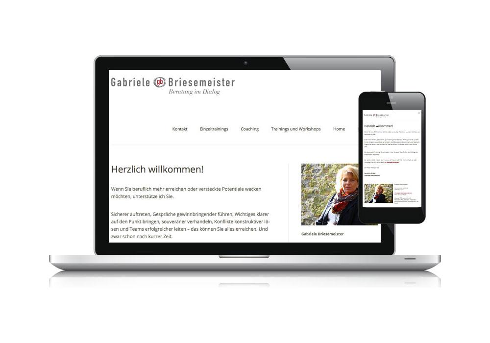 GABRIELE BRIESEMEISTER | Homepage