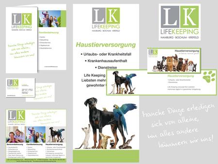 LIFEKEEPING | Geschäftsausstattung