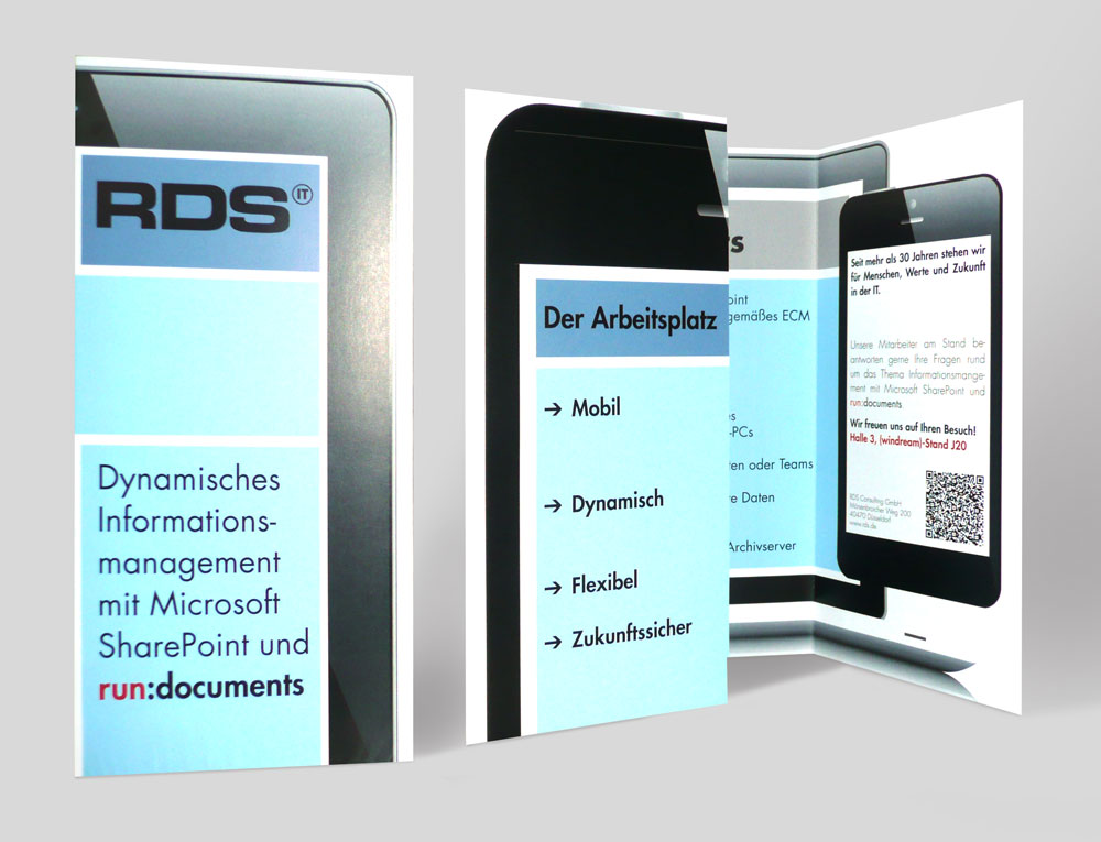 RDS CONSULTING | CeBIT Flyer