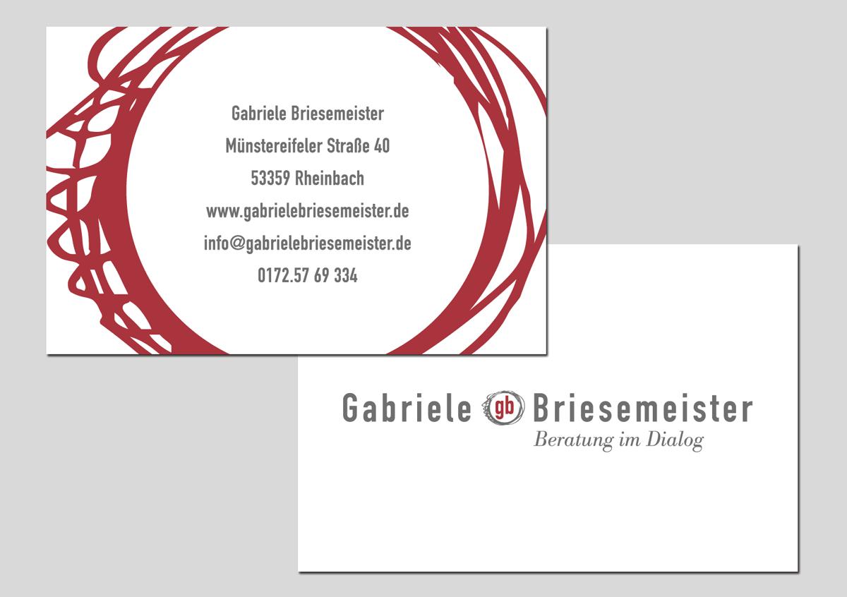 GABRIELE BRIESEMEISTER | Visitenkarte