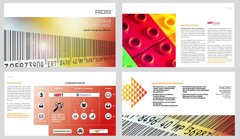 RDS CONSULTING | Broschüre zum Digitalen Posteingang